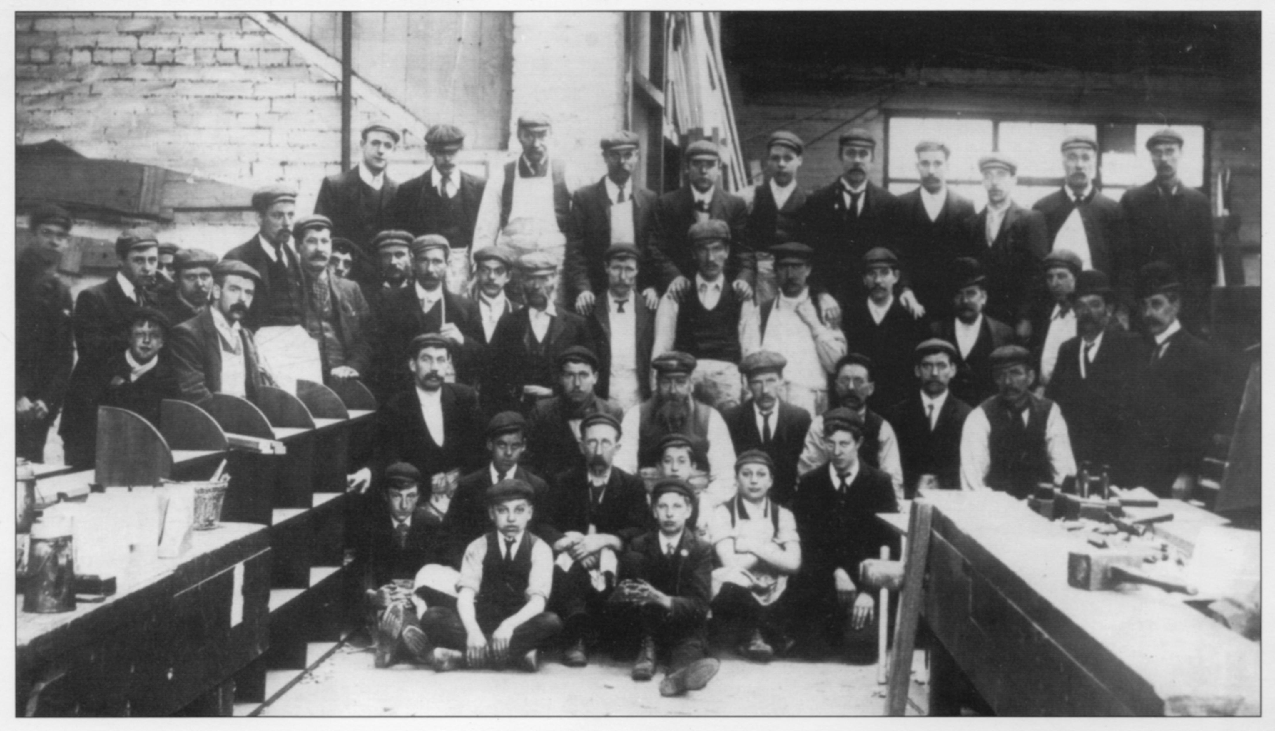 Longden doors 1900s