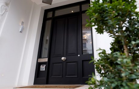 Luxury residential external timber doors