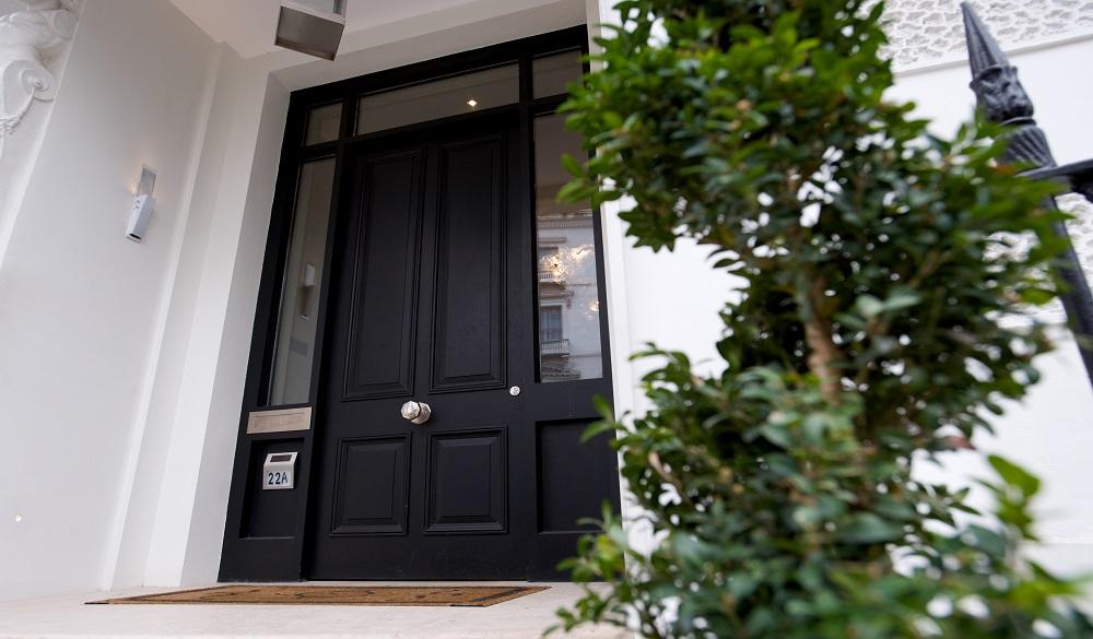 Luxury residential timber doors